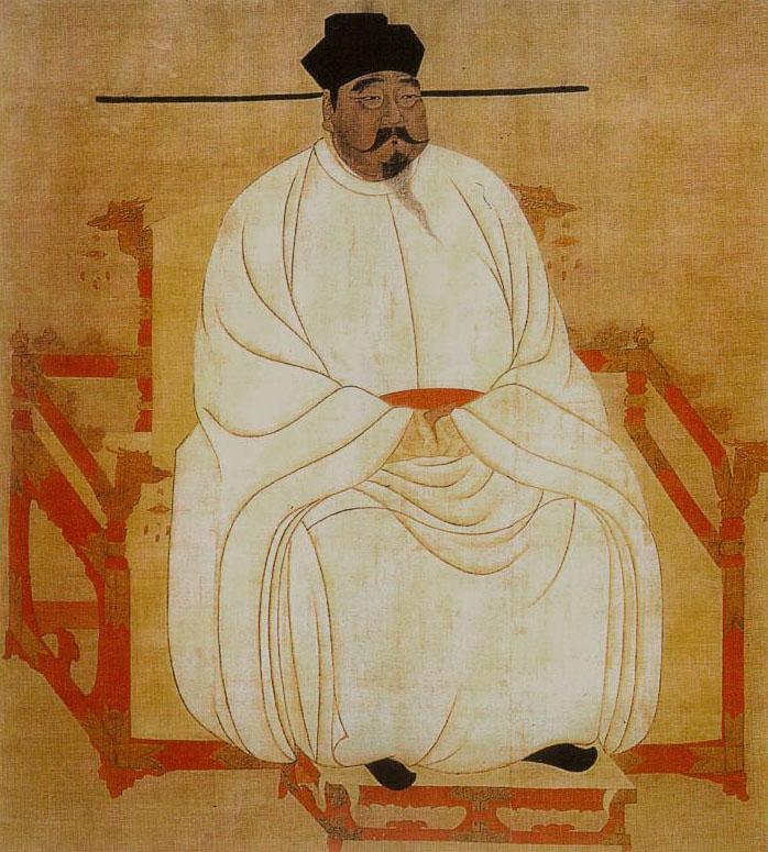 First Emperor of the Song Dynasty - Emperor Song Taizu (宋太祖赵匡胤, 960-976).  [Public Domain]