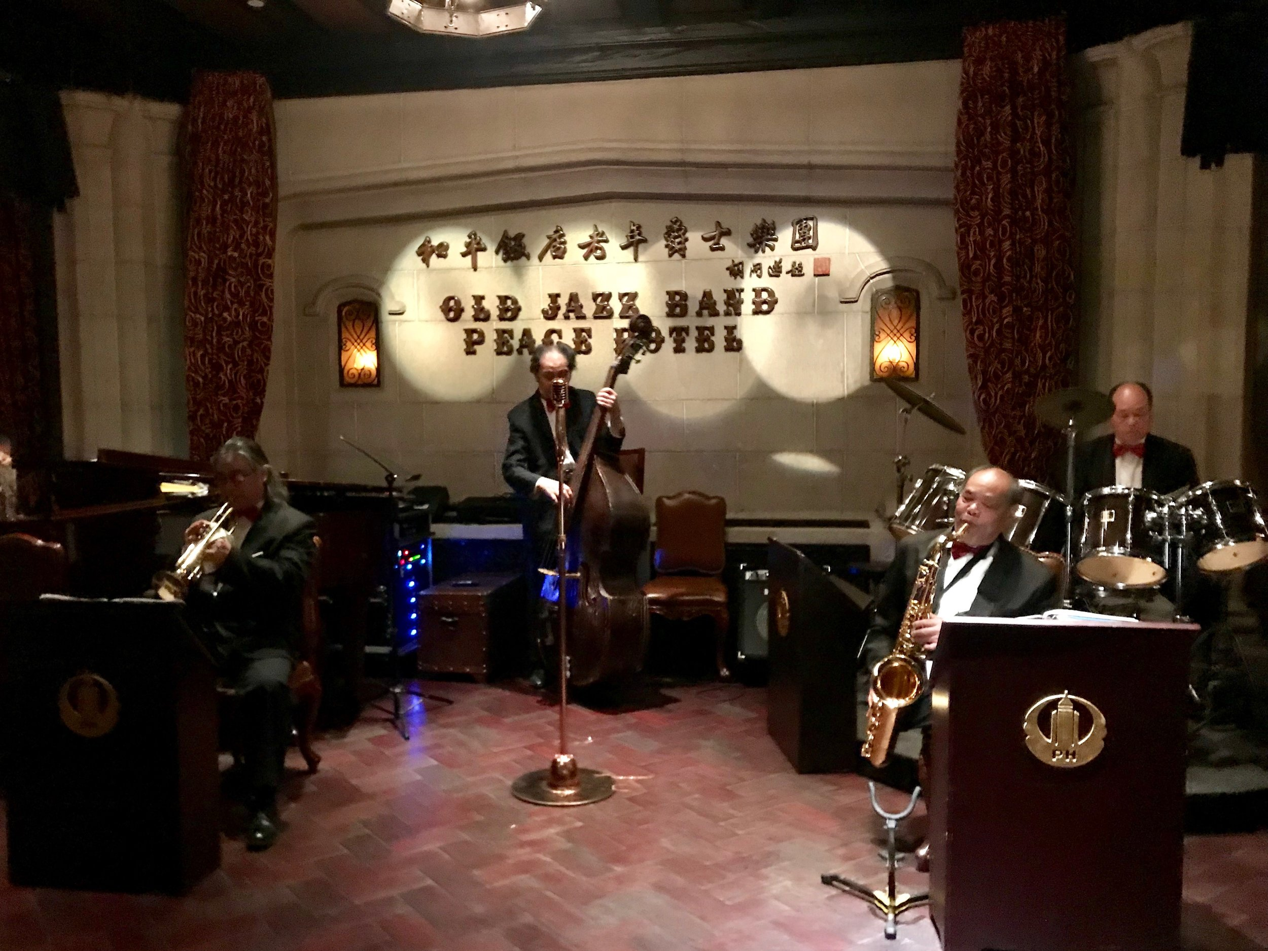 Old Jazz Band performs every night. [Nicholas Zhang Archives]