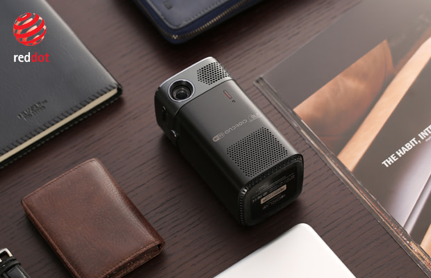 $241,088 /5,287,280円 - Product: KERUO L7 (The Most Portable Smart Projector)Platform: Indiegogo, Makuake