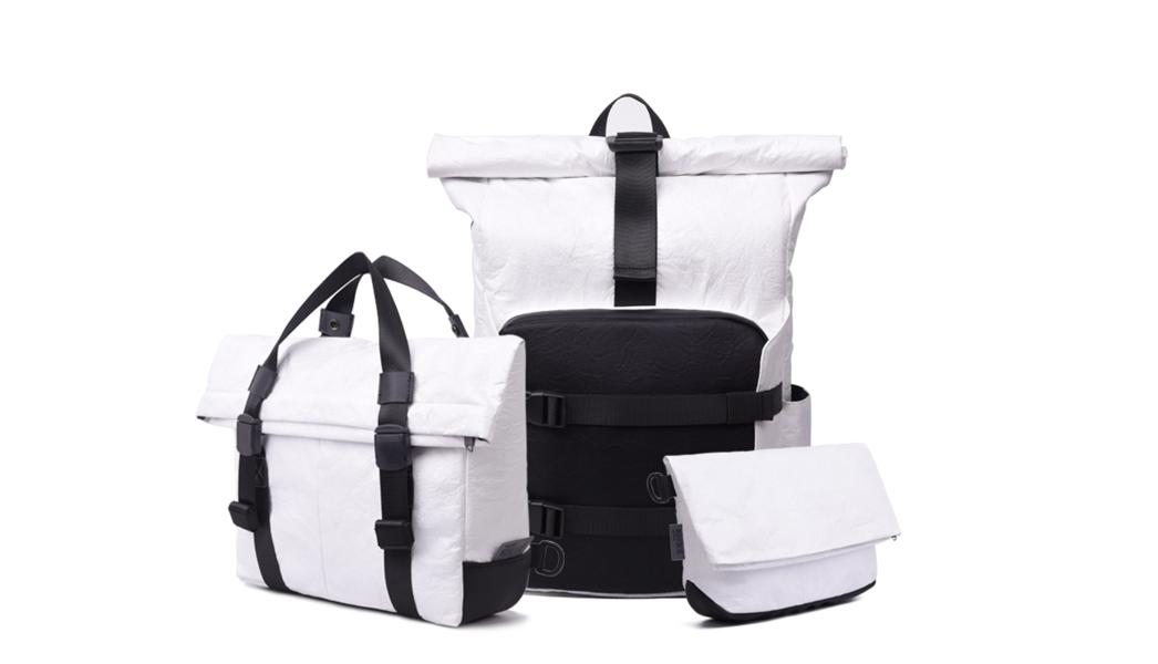 WOHLBEGE纸背包日本众筹募资中 - 上线六小时完成目标金额点击下方链接支援超轻纸背包