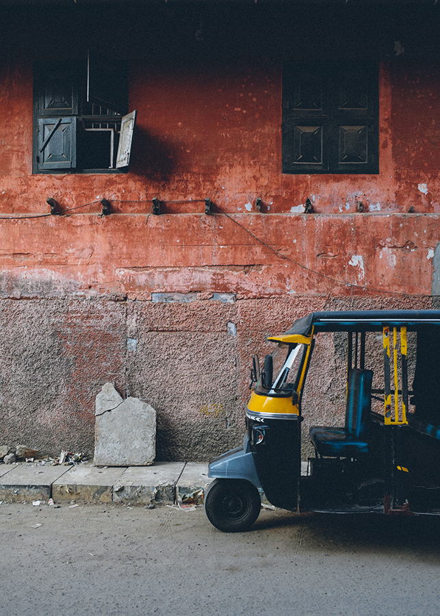 Red Wall & Rickshaw