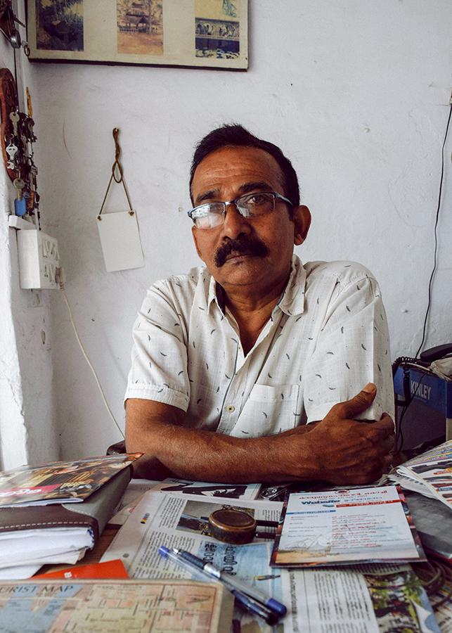 George, Vasco House owner
