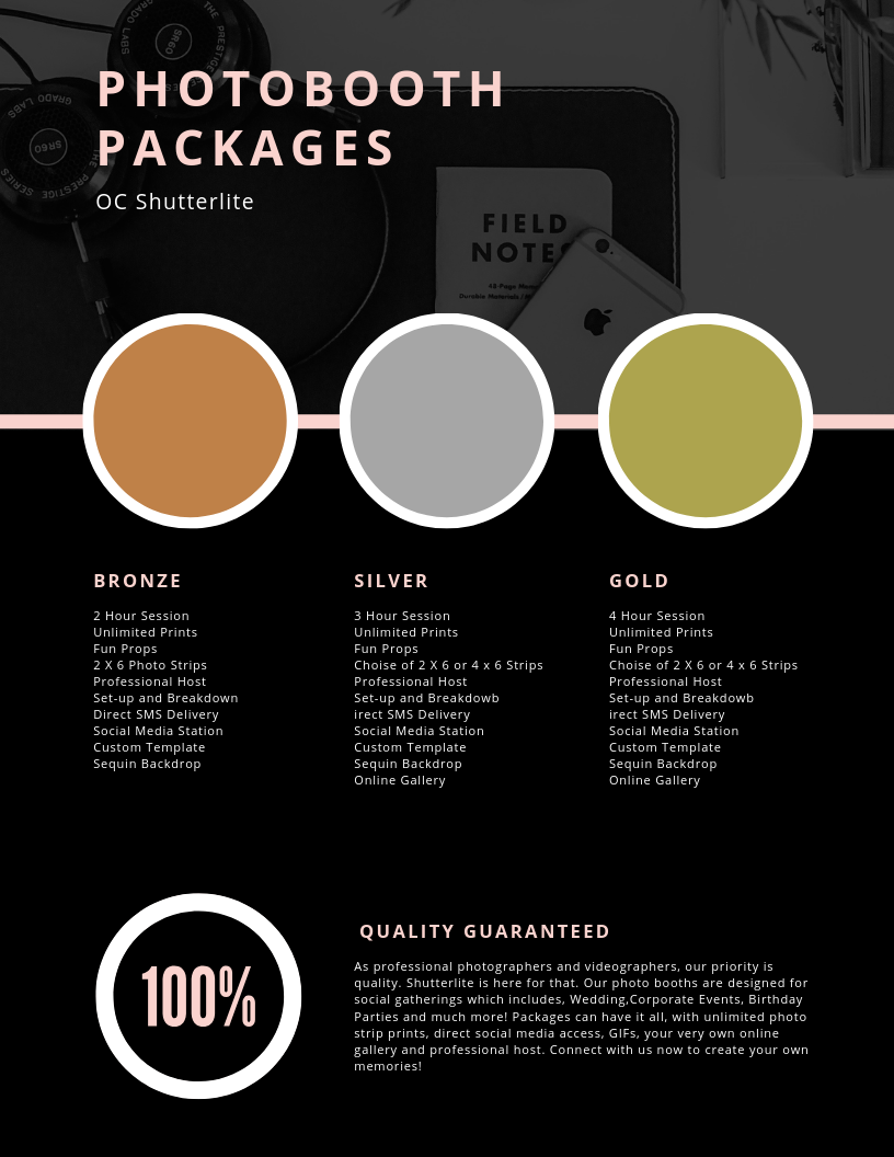 photobooth packages in orange county