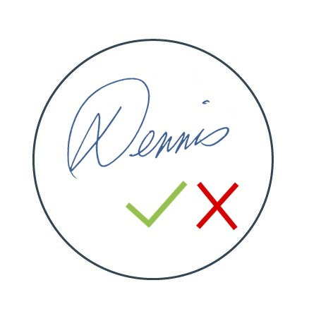 Signature verification - Automatically check if a signature is valid