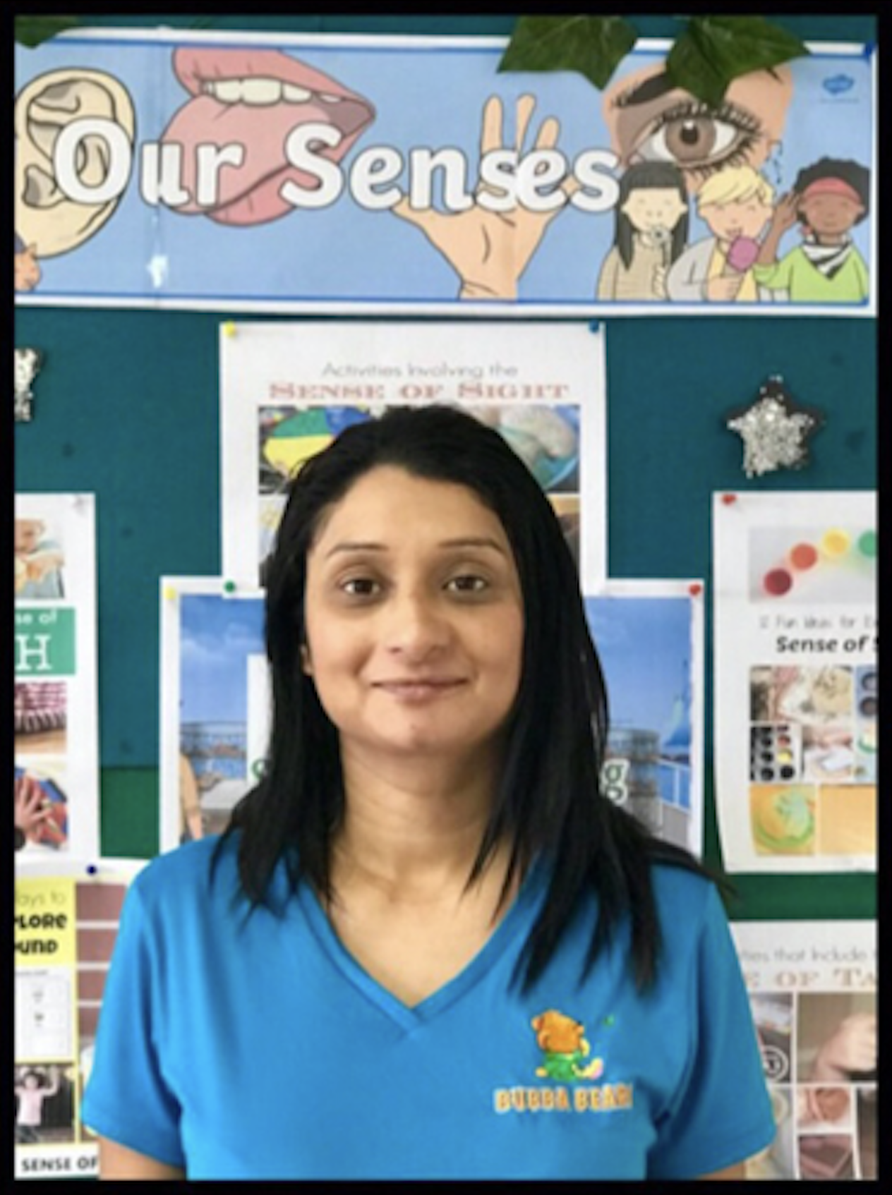 """Ashly Khan - - Bachelor Of Early Childhood Education- Diploma In Business ManagementWith Almost A Decades Teaching Experience And An Engaging Mode Of Teaching, Ashly Brings A Vibrant Warm Vibe To The Team.""""Hi Im Ashly! Ive Been Teaching For Nine Years Now. I Love To Read Stories And Encourage The Development Of Children Imaginations, Which I Also Practice My Four Year Old Son!"""""""