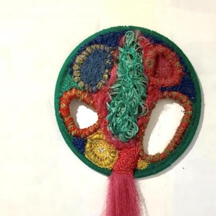 Marta Santos  Dreamcatcher   Fer, crin végétal, cordes, filet de pêche