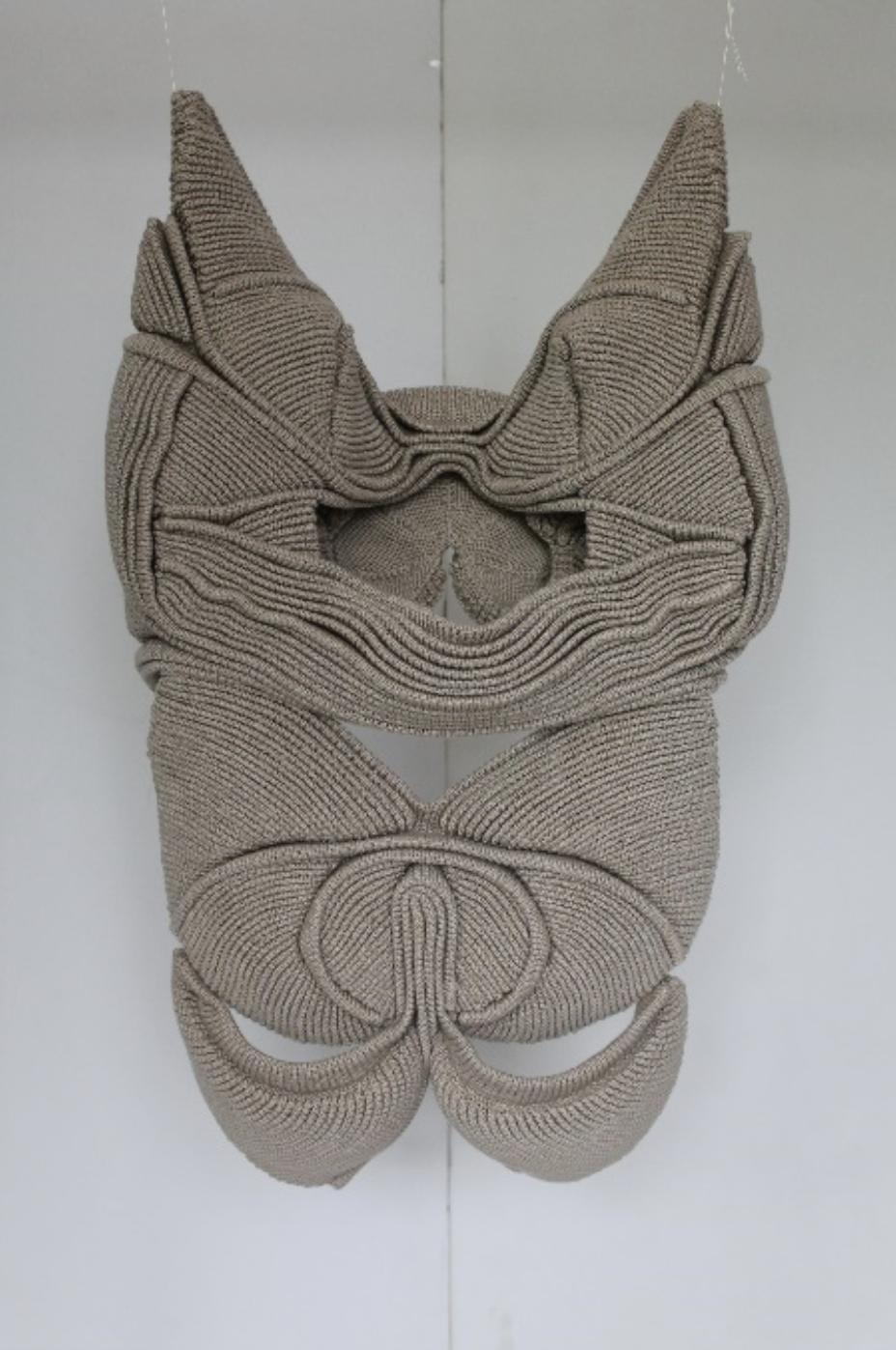 Xavier Brisoux     KALINKHOLOS,   2018  Coton  68 cm x 39 cm