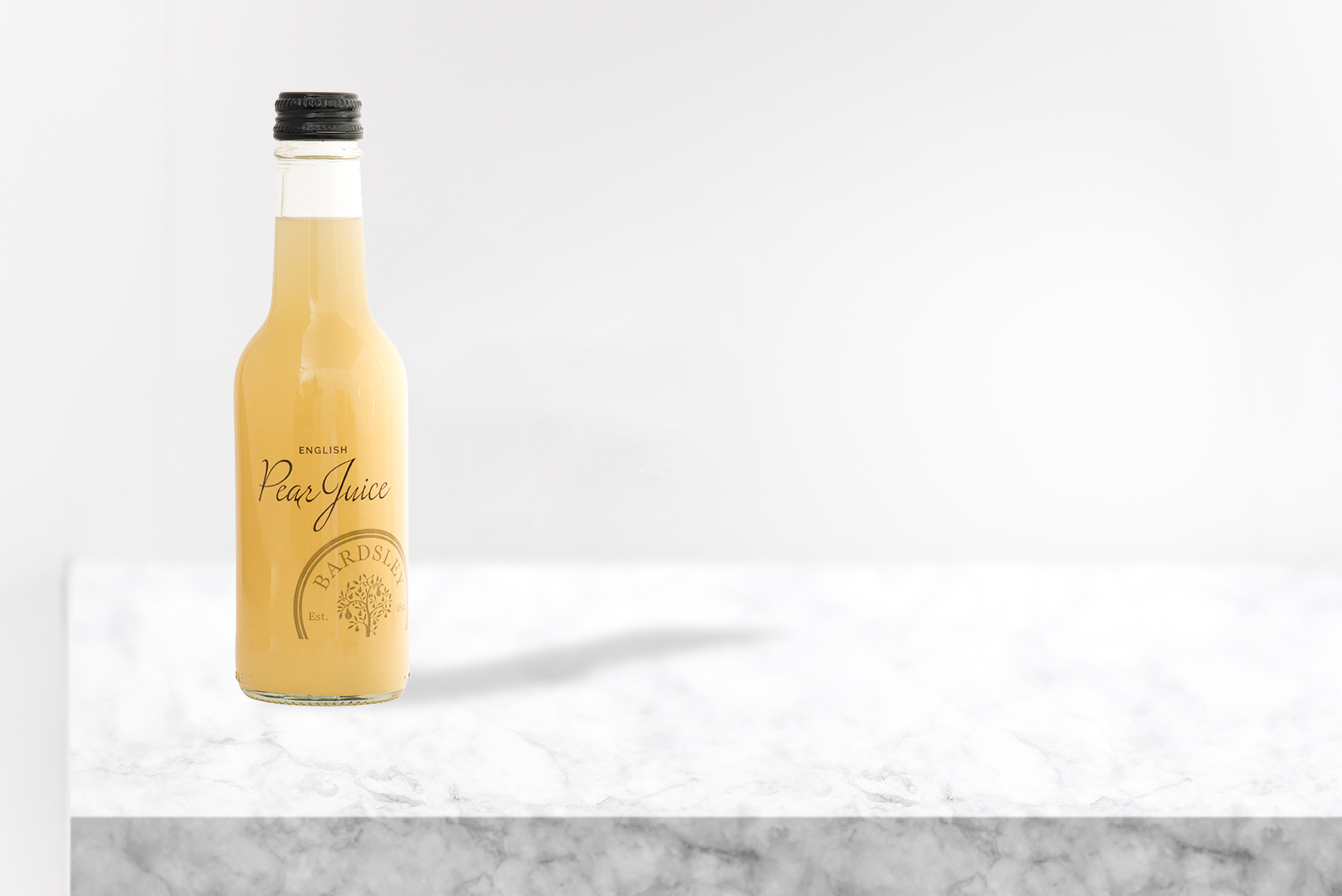 PEAR JUICE - The sweet and juicy Conference pear, the mellow earthy Comice and the vanilla noted Concorde are hand-picked and blended together to produce a mouth-watering mixture.