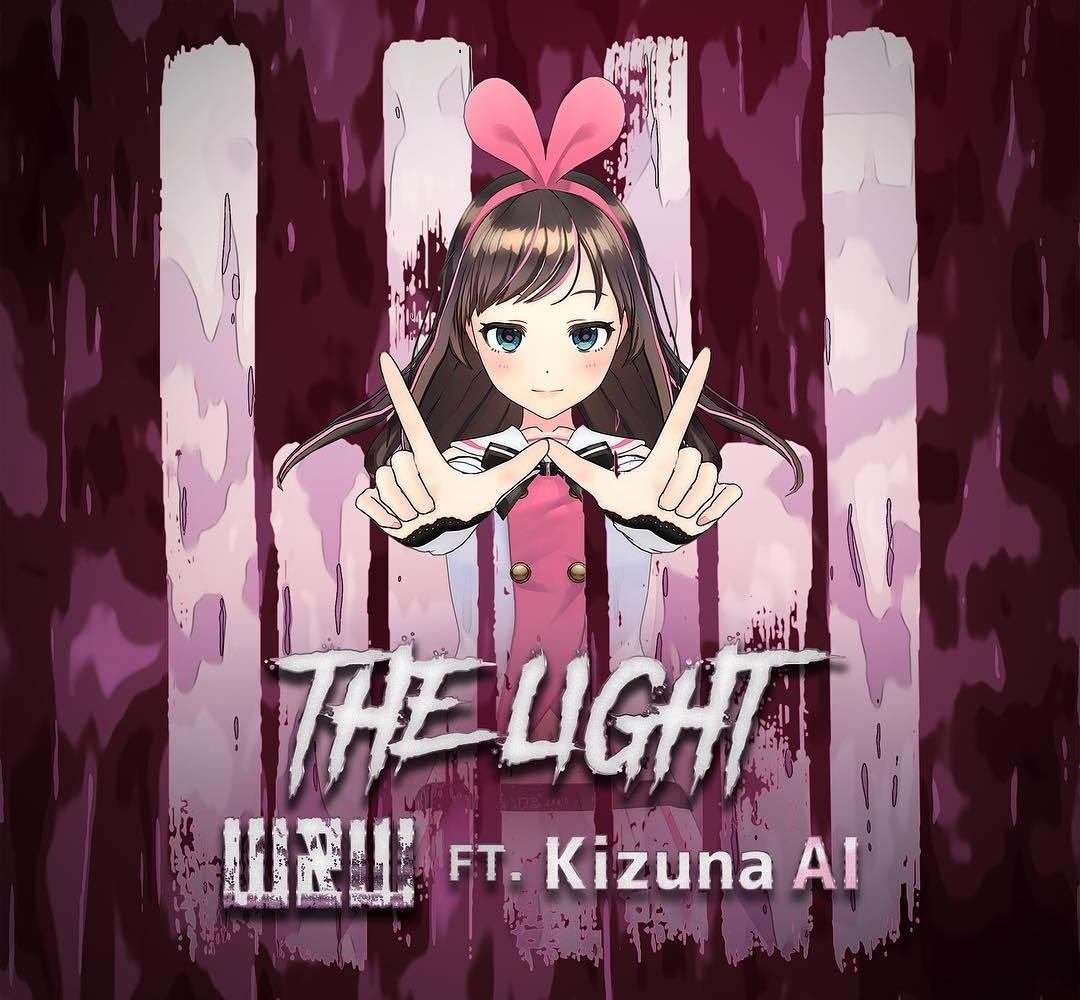 Kizuna AI x W&W Official Artwork