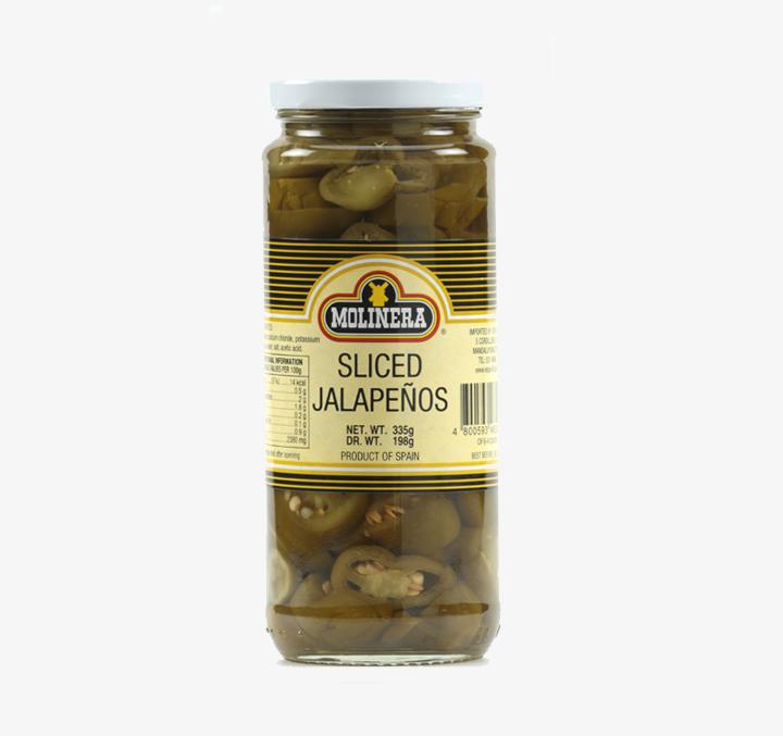 Sliced Jalapenos - Size Availability:335g, 935g