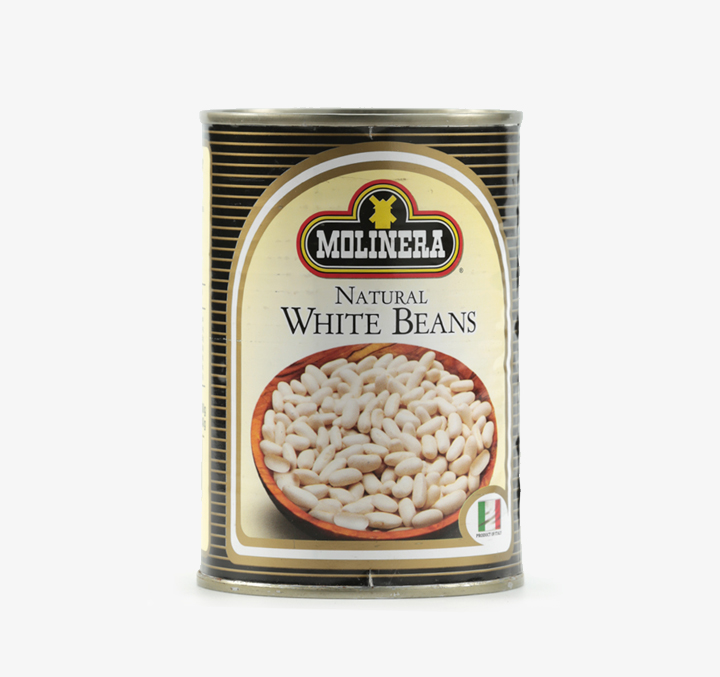Natural White Beans - Size Availability: 400g