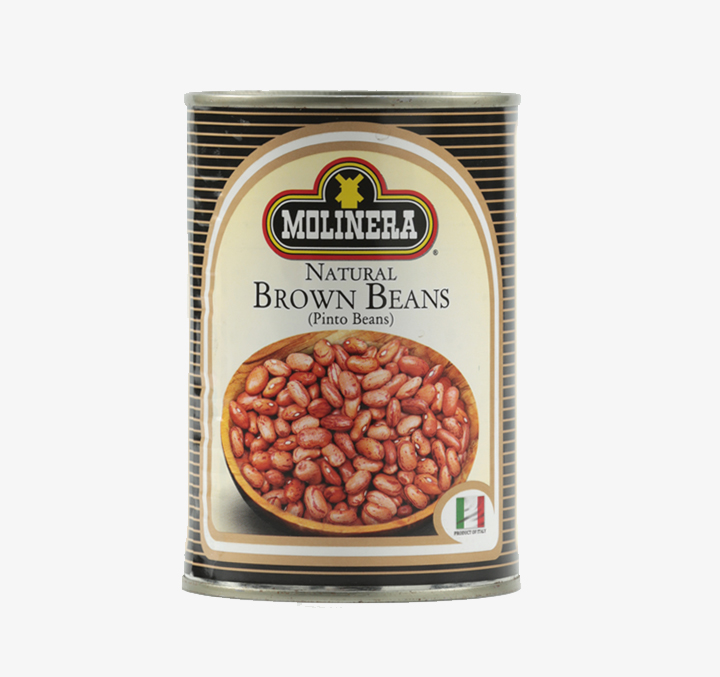 Natural Brown Beans - Size Availability: 400g