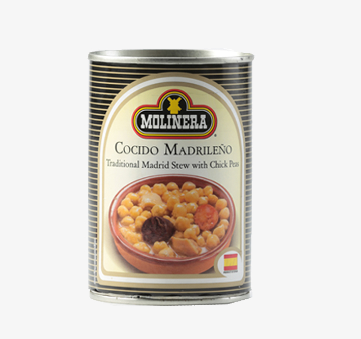 Cocido Madrileno (Traditional Madrid stew w/ chick peas) - Size Availability: 415g
