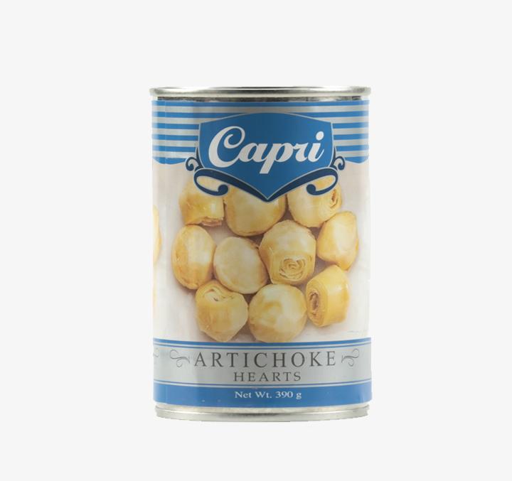 Artichoke Hearts - Size Availability: 390g