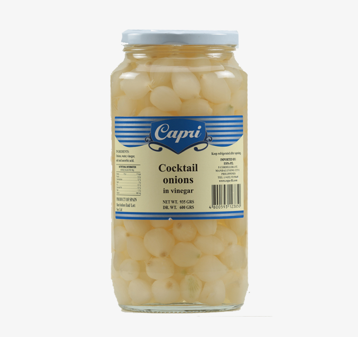 Cocktail Onions - Size Availability: 935g