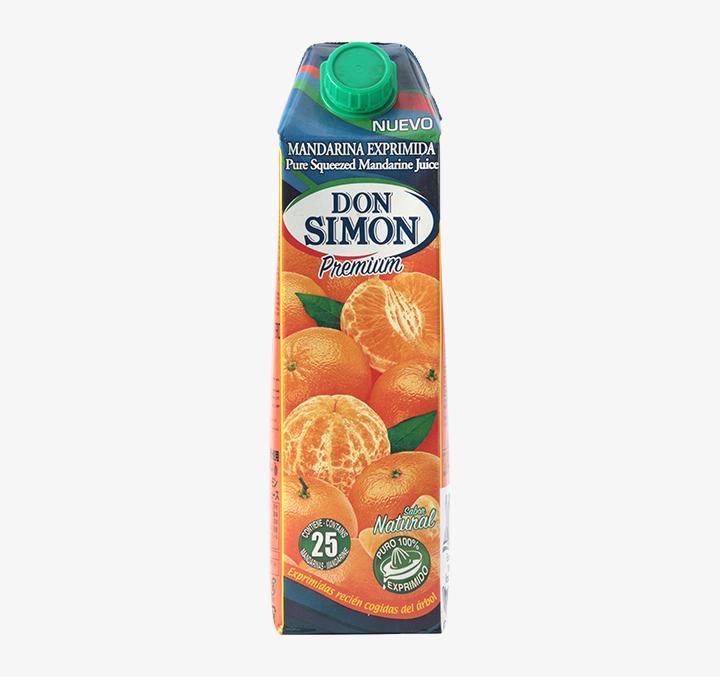 Mandarin Juice - Size Availability: 1L