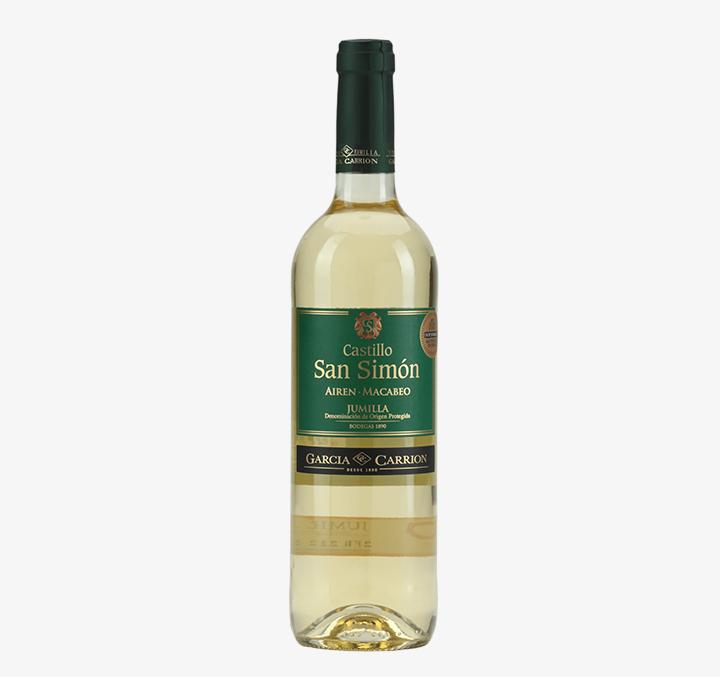 Castillo San Simon (White) - Size Availability: 75cL