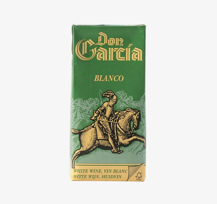 Don Garcia Tetra Pak (White) - Size Availability: 1L