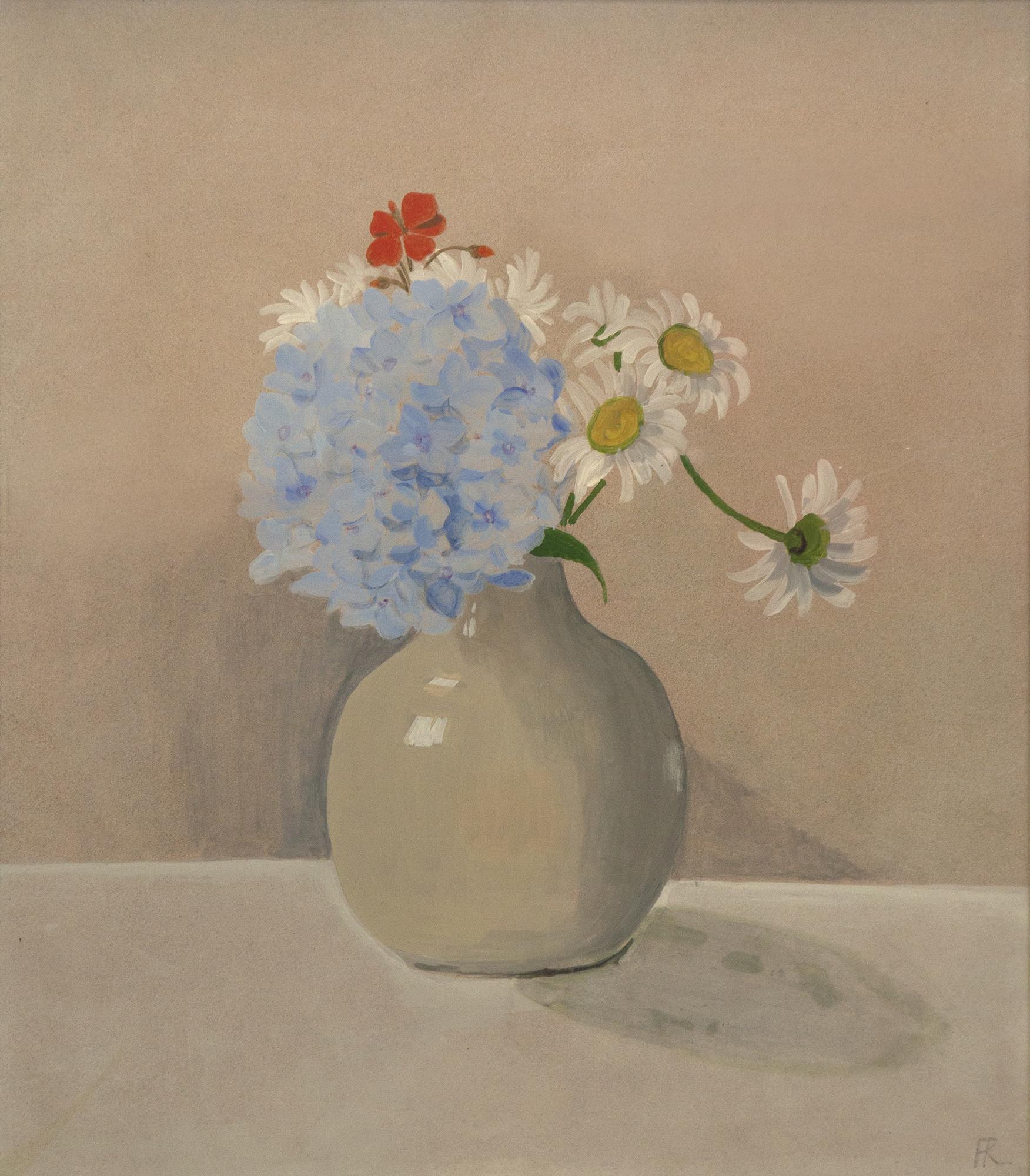 Blue Hydrangea (1973)
