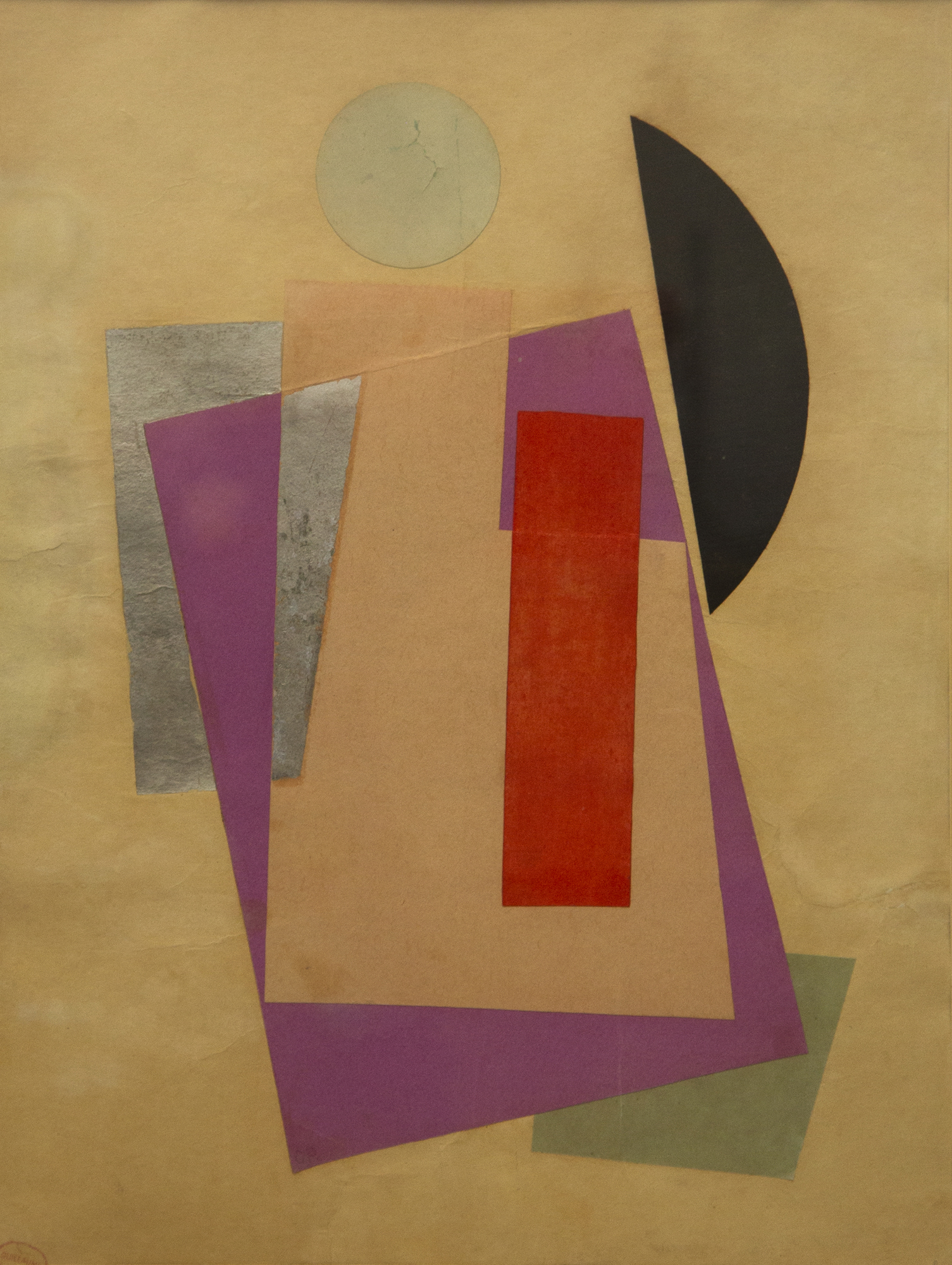 Non Objective Composition (Suprematism) (1916)