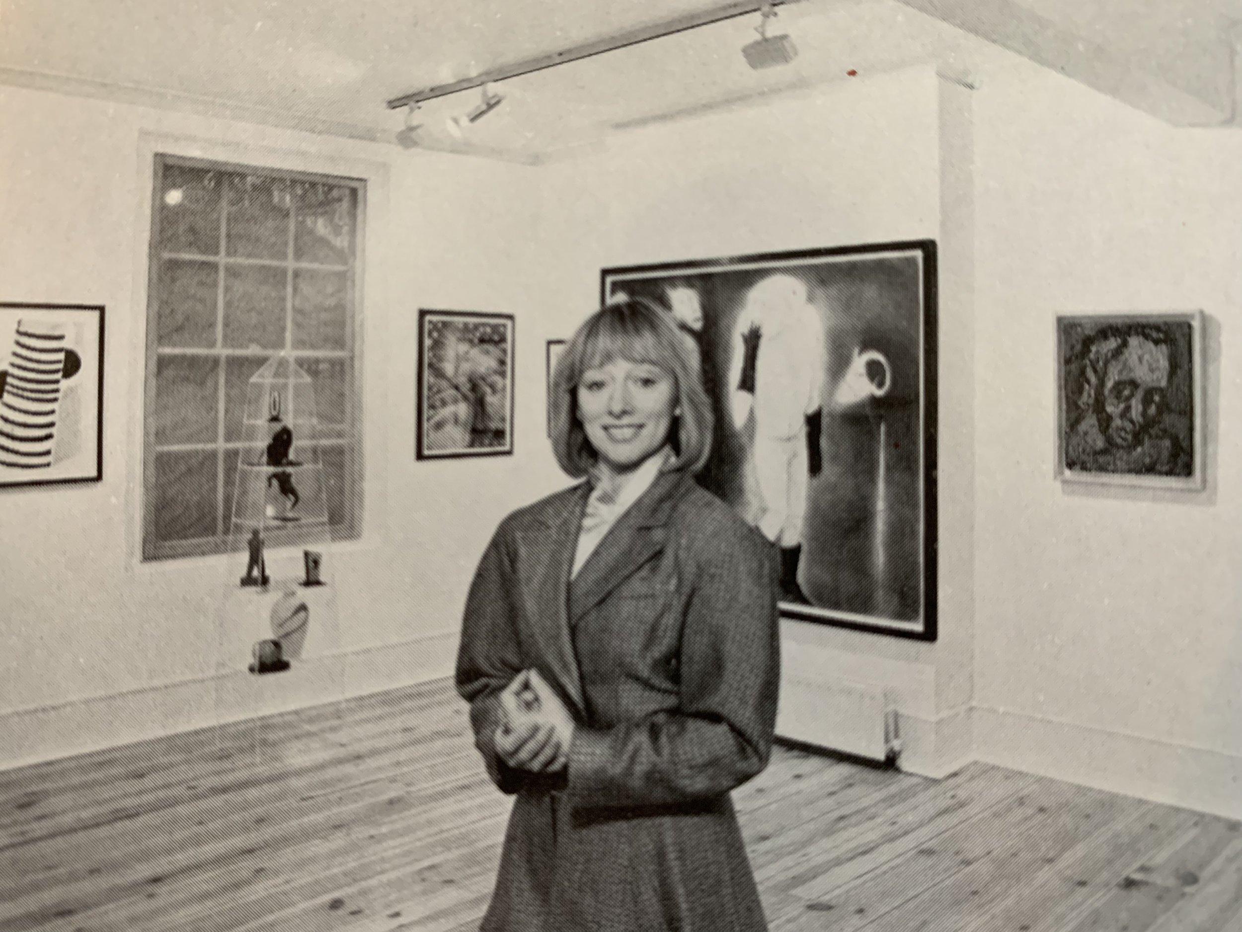 Gillian Jason, Camden Town, 1980s
