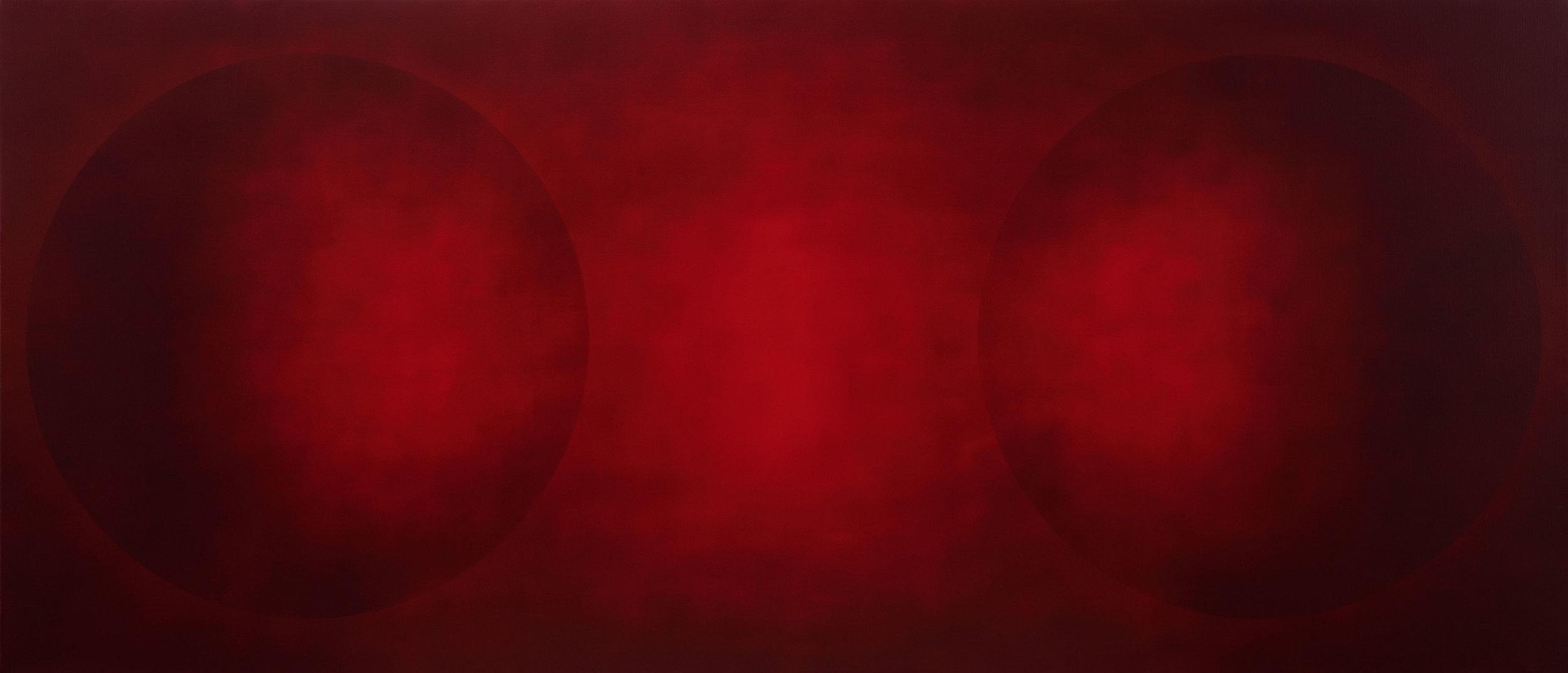 INTERVAL MF CV  2011 - 2013 130x300 cm  private collection