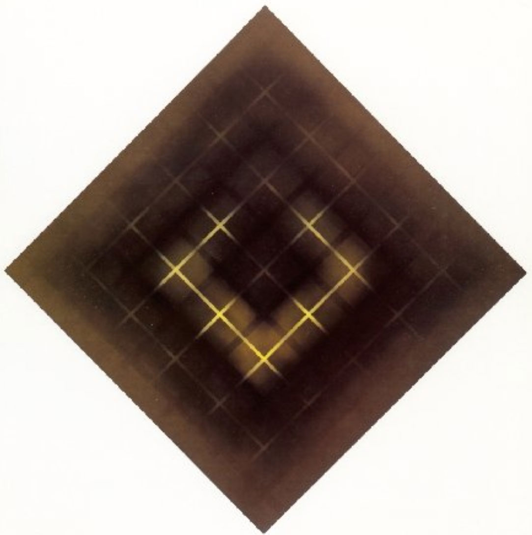UNTITLED  1990 145x145 cm   private collection