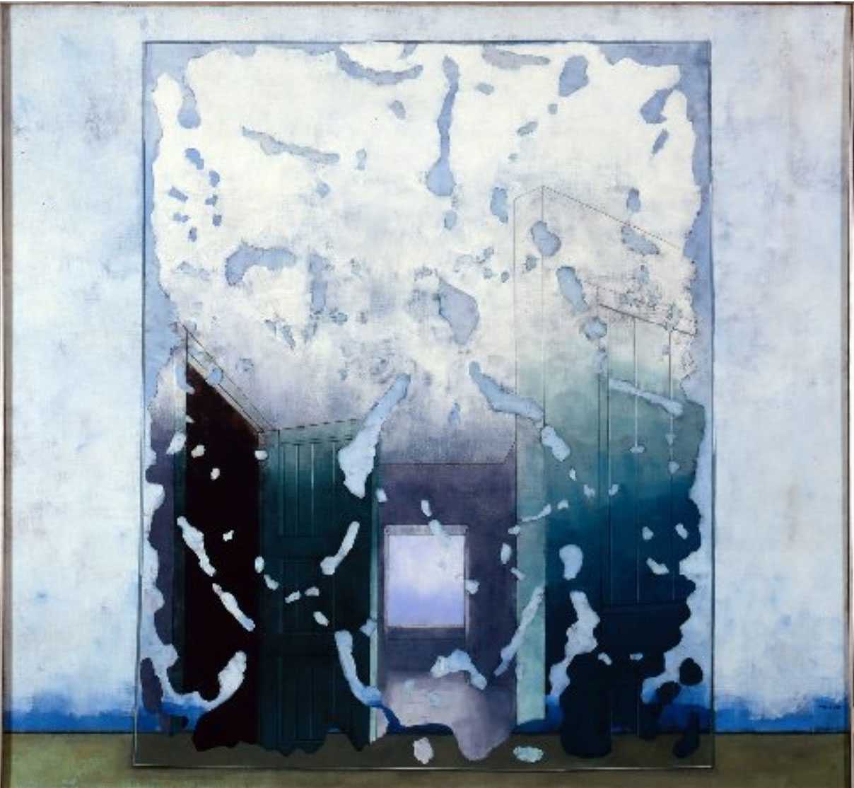 UNTITLED  1973 140x150 cm  private collection