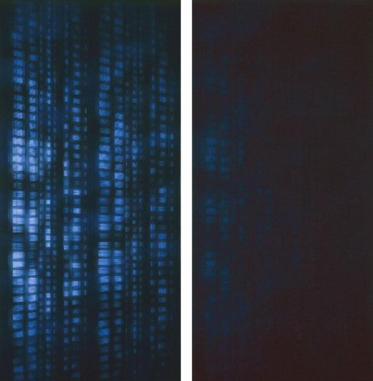 UNTITLED  1983-1984 diptych (2x) 150x325 cm