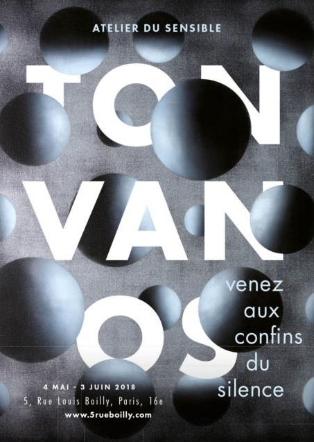 Venez aux confins du silence, 5 Rue Louis Boilly, Paris, 2018