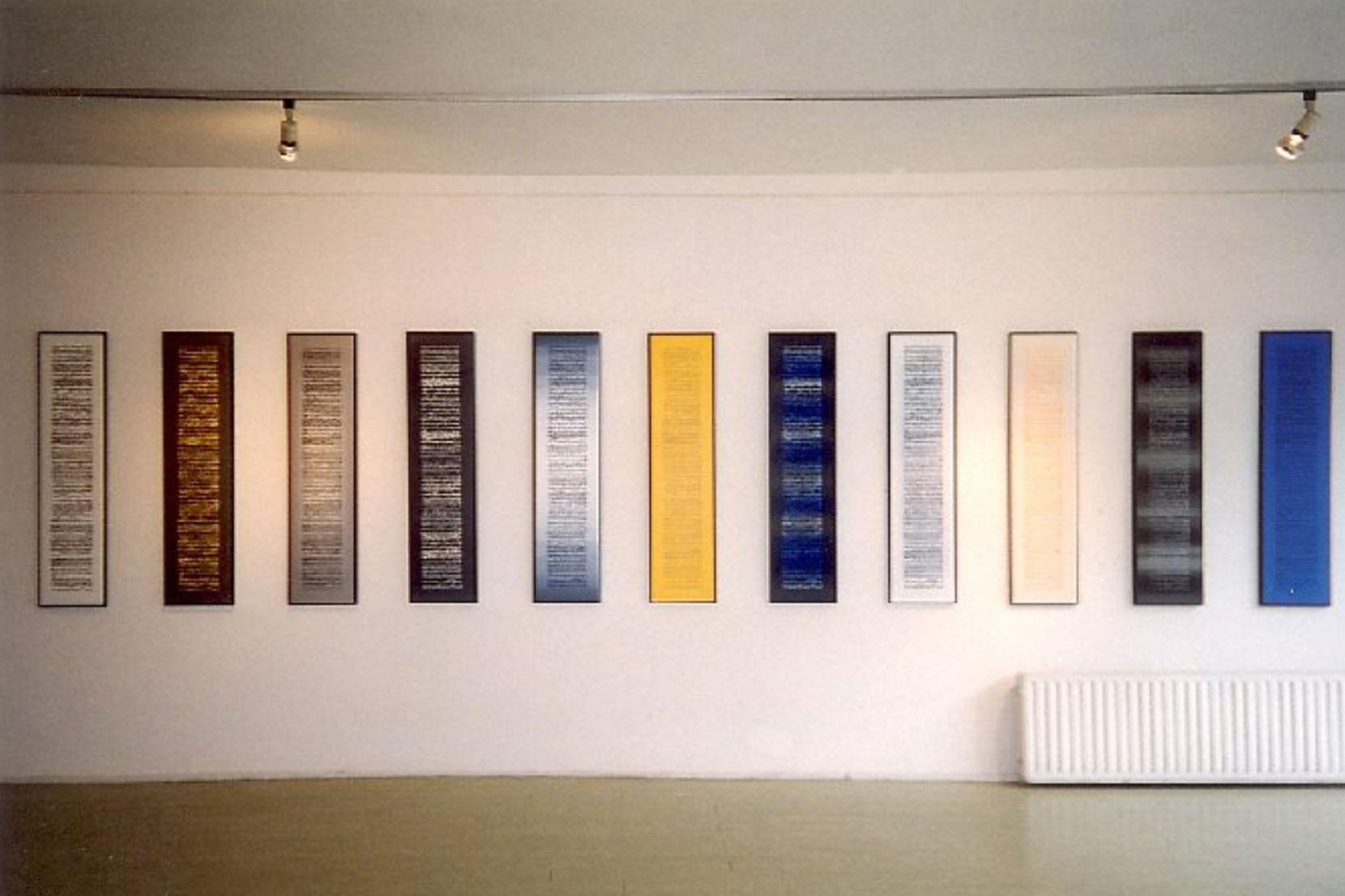 Exhibition in gallery Delta in Rotterdam. 2000