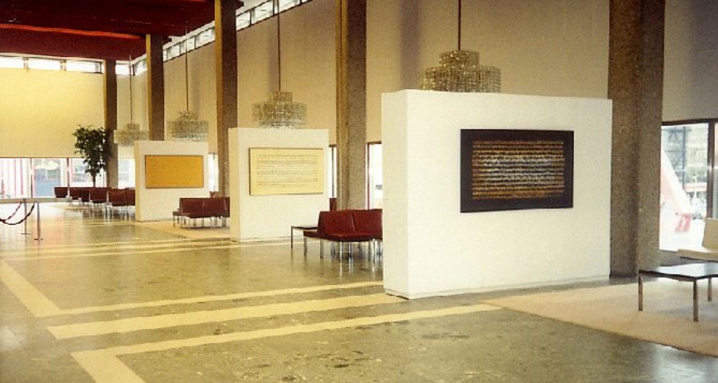 BACH FESTIVAL ROTTERDAM Exhibition in 'de Doelen', Rotterdam 2000