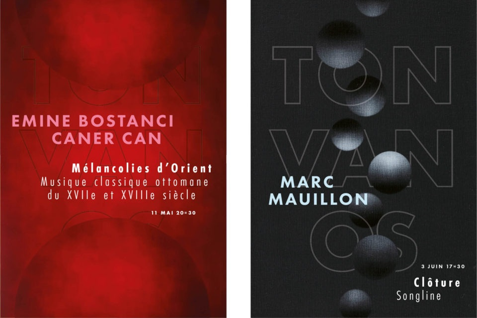 Posters concerts |  Design: Studio Wouke Boog