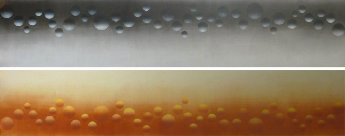 NUANCES OF WEIGHT MF LX  2005 diptych (2x) 60x300 cm