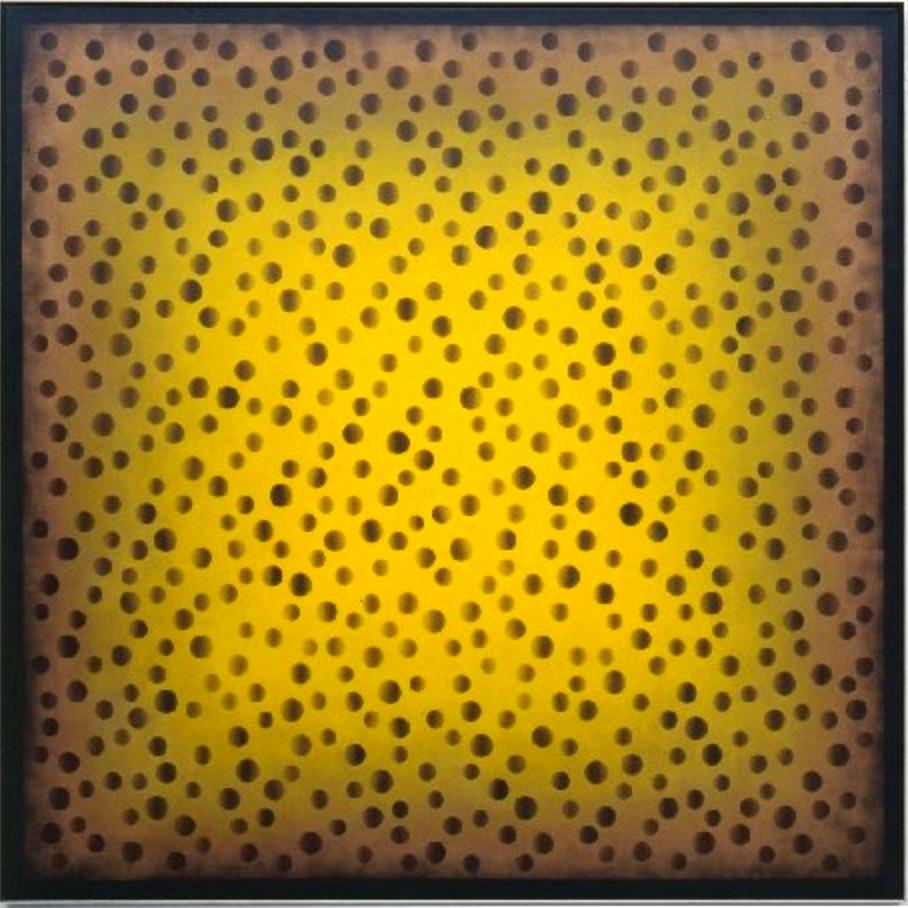 CARPET OF LIGHT MF XXVIII   2002  200x200 cm