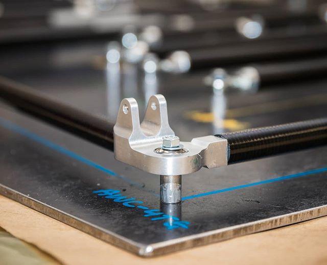Completed A-arm assembly. (#closeupchallenge 5/7)  Today, we nominate @teamswinburne to take on the challenge. 📸 @callumgibbens  #formulasae #formulasaeaustralasia #formulastudent #fsae #engineering #design #manufacturing #closeup #rmituniversity #rmit