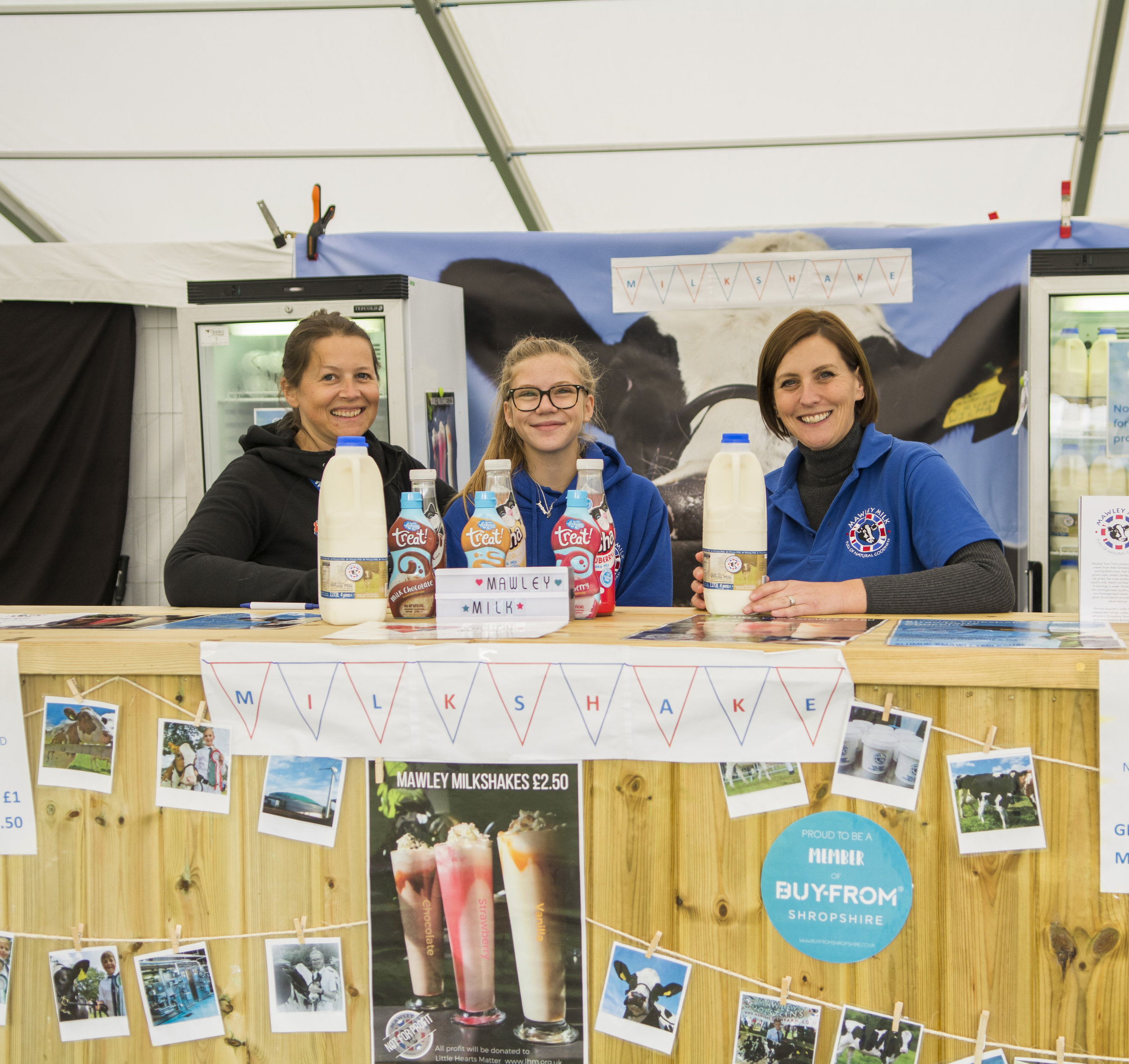Shropshire Food and Drink Hub - Mawley Milk