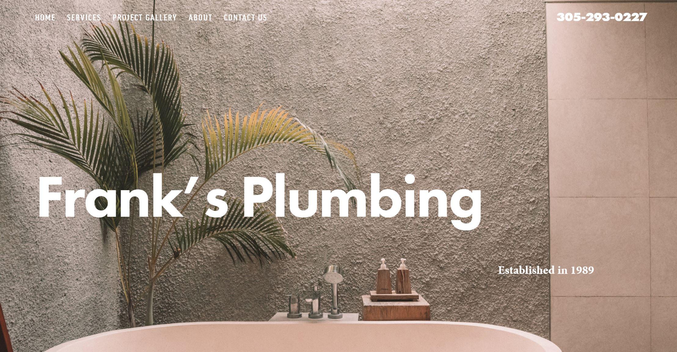 Franks Plumbing