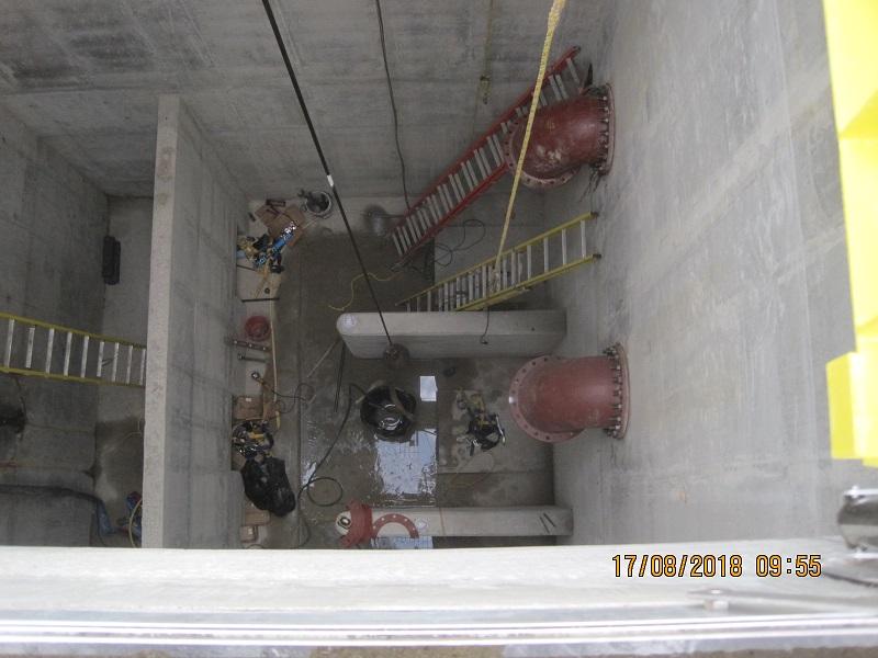 16 / 22 Inside Wet Well