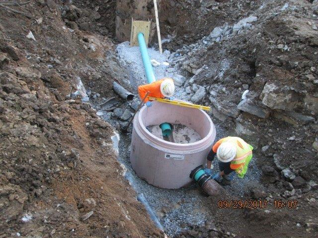 Reconnecting Existing Sewer Lines