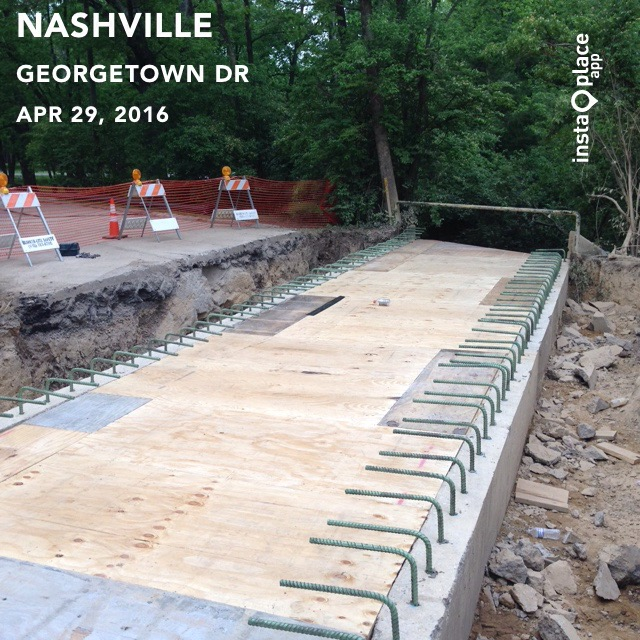 Installing Deck Forms For Box Culvert