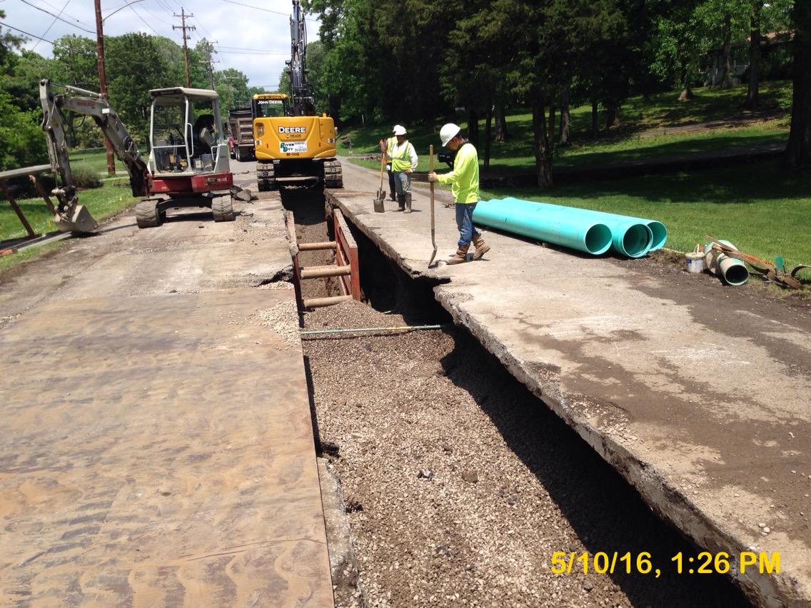 Sewer Main Installation