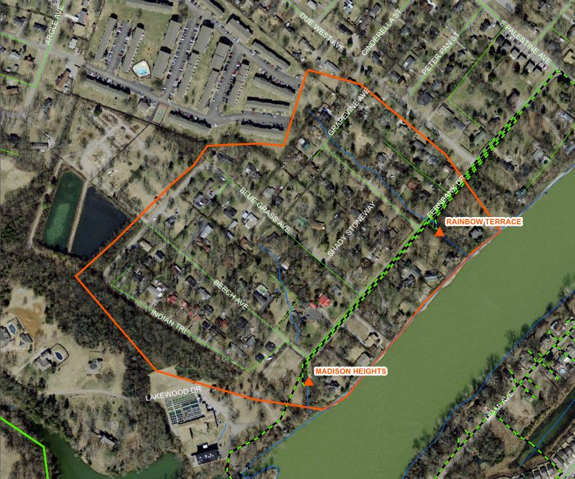 Madison Project Map