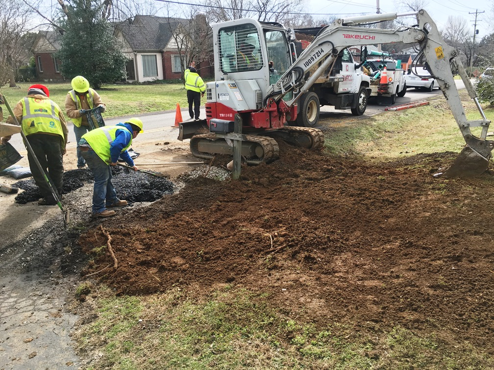 Road and Yard Restoration