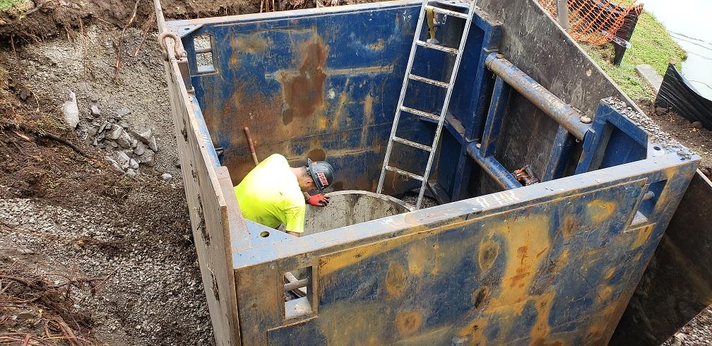 Raising A Manhole