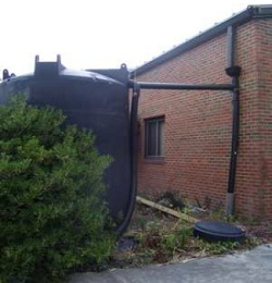 Rainwater cistern   (Source:  Craven County, NC )