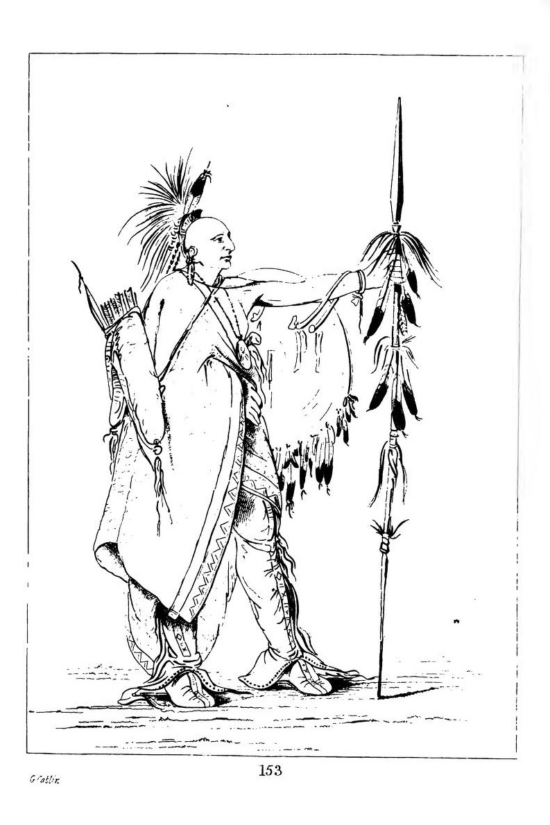 Caitlin G. Letters and notes on the manners, customs, and conditions of North American Indians. Reprinted by Dover Inc. NY, NY, 1973