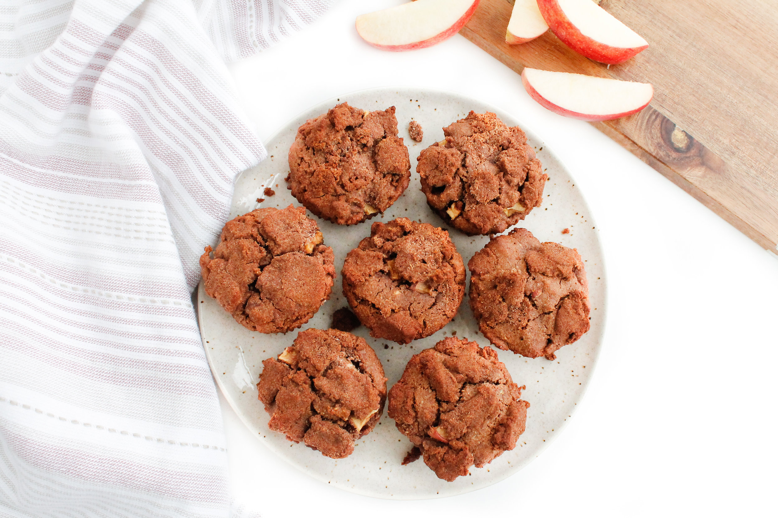 Paleo Cinnamon Apple Muffins    These cinnamon apple muffins are grain free, gluten free, dairy free, refined sugar free AND Specific Carbohydrate Diet friendly! They are the perfect combo of sweet and spicy from the apples and cinnamon and are perfect paired with coffee or tea for a healthy snack, healthy breakfast or healthy sweet treat. Click through for the full recipe!    plentyandwell.com    #paleobaking #paleomuffins #specificcarbohydratediet