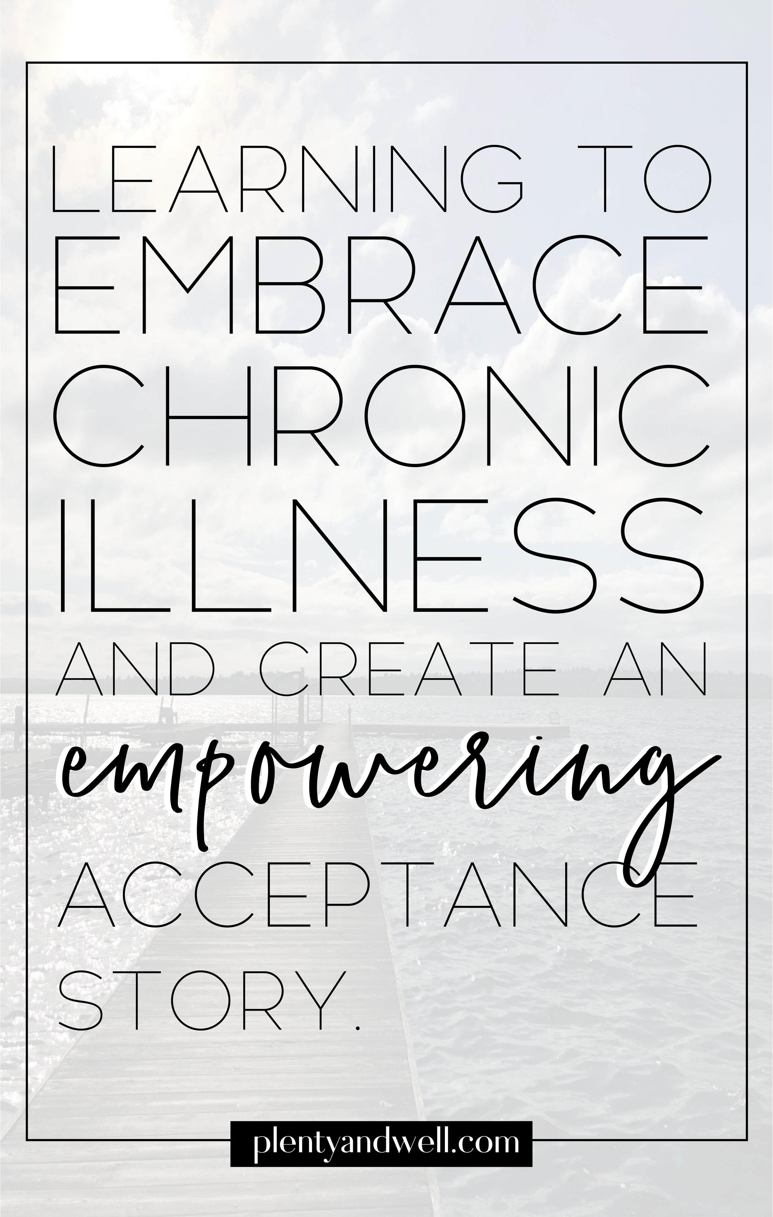 chronic illness acceptance