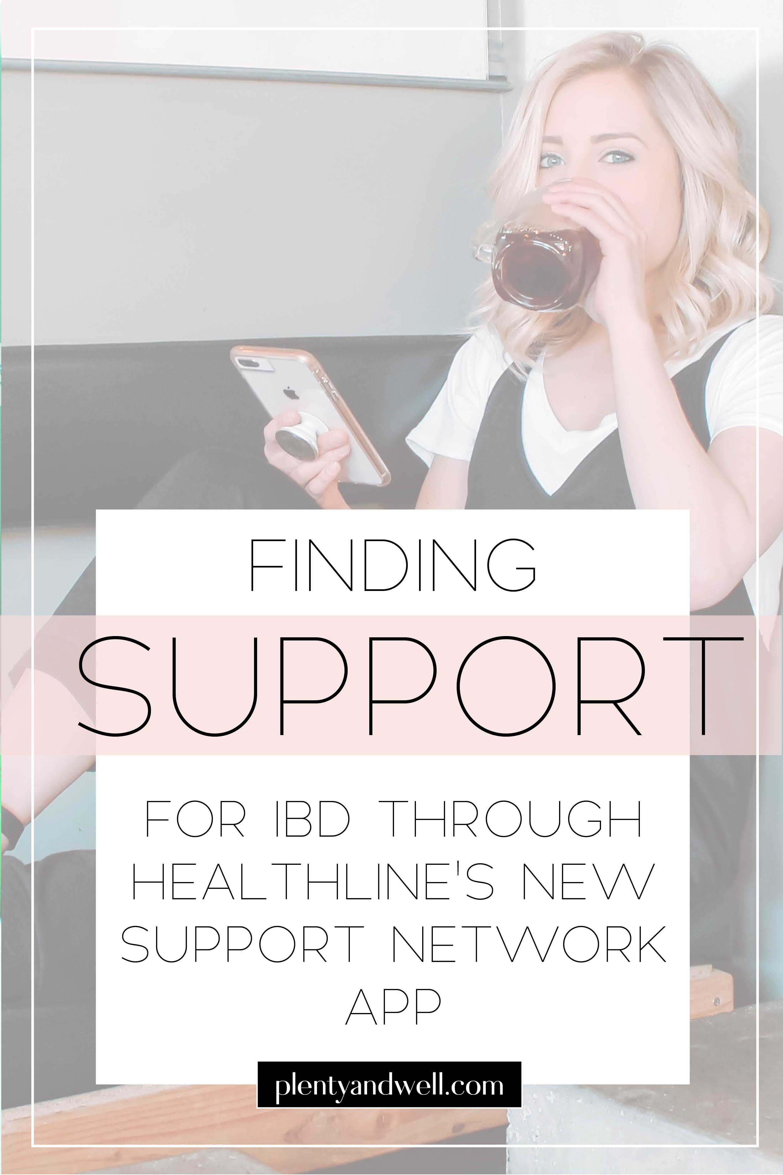 Healthline IBD support network app